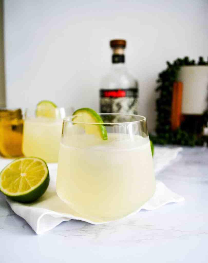 A Light + Refreshing Margarita