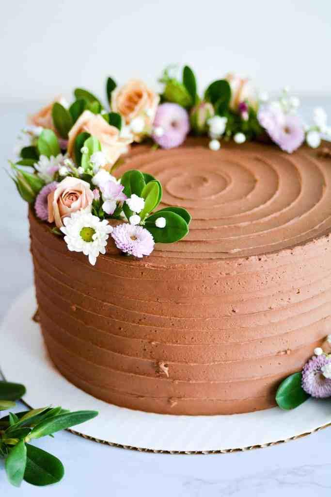 Boston Vegan Wedding Cake by Earthly Bakers Co.