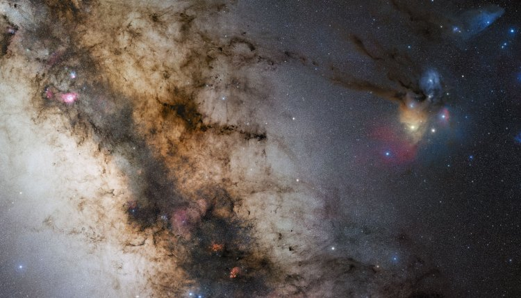 The Heart of the Milky Way Galaxy