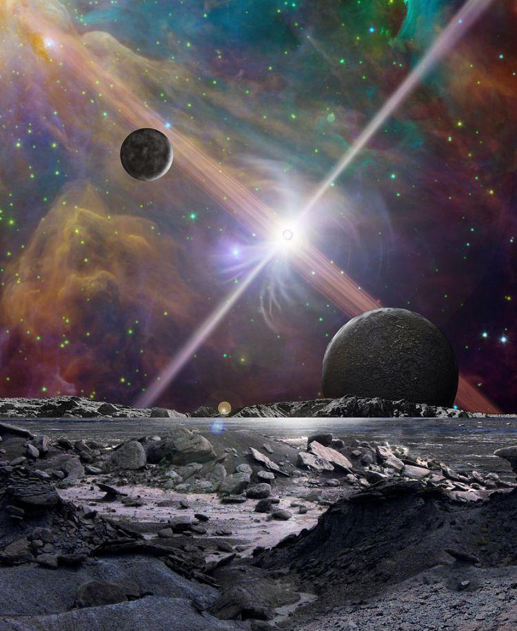 Pulsar planet