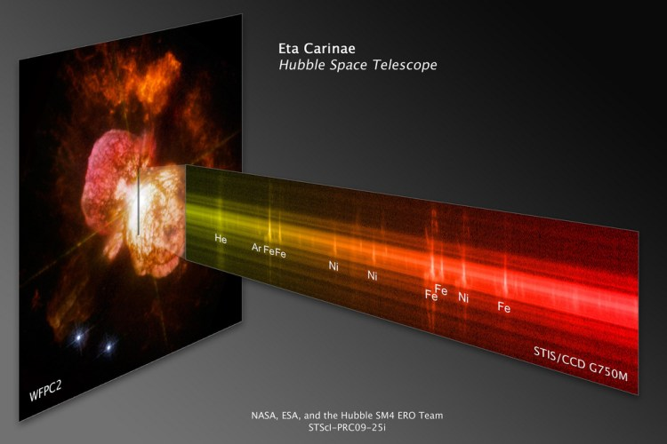 Spectrograph of Era Carinae