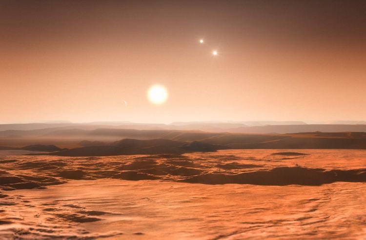 KELT-4A Hypothetical Rocky Planet