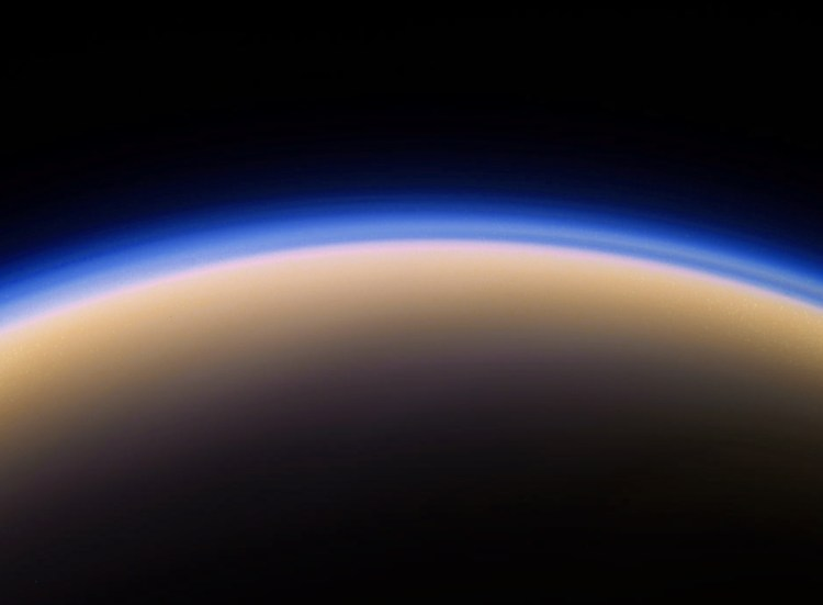 Titan atmosphere