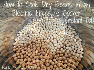 How to cook dry beans in an electric pressure cooker (Instant Pot)