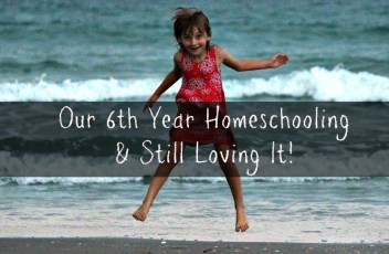 Our 6th year homeschooling and we are still loving it!