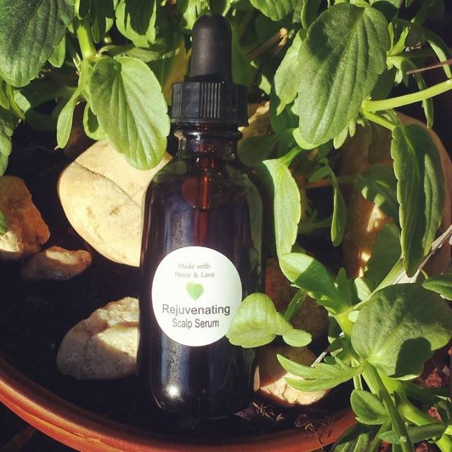 Organic Scalp Serum: Promotes Hair Growth!