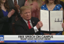 Nets Skip Trump Executive Order to Protect Free Speech on College Campuses