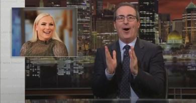 HBO's John Oliver Mocks Meghan McCain as 'Most Embarrassing Child' of a Politician
