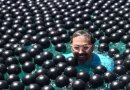 Can you swim in shade balls? This YouTuber was wild enough to try