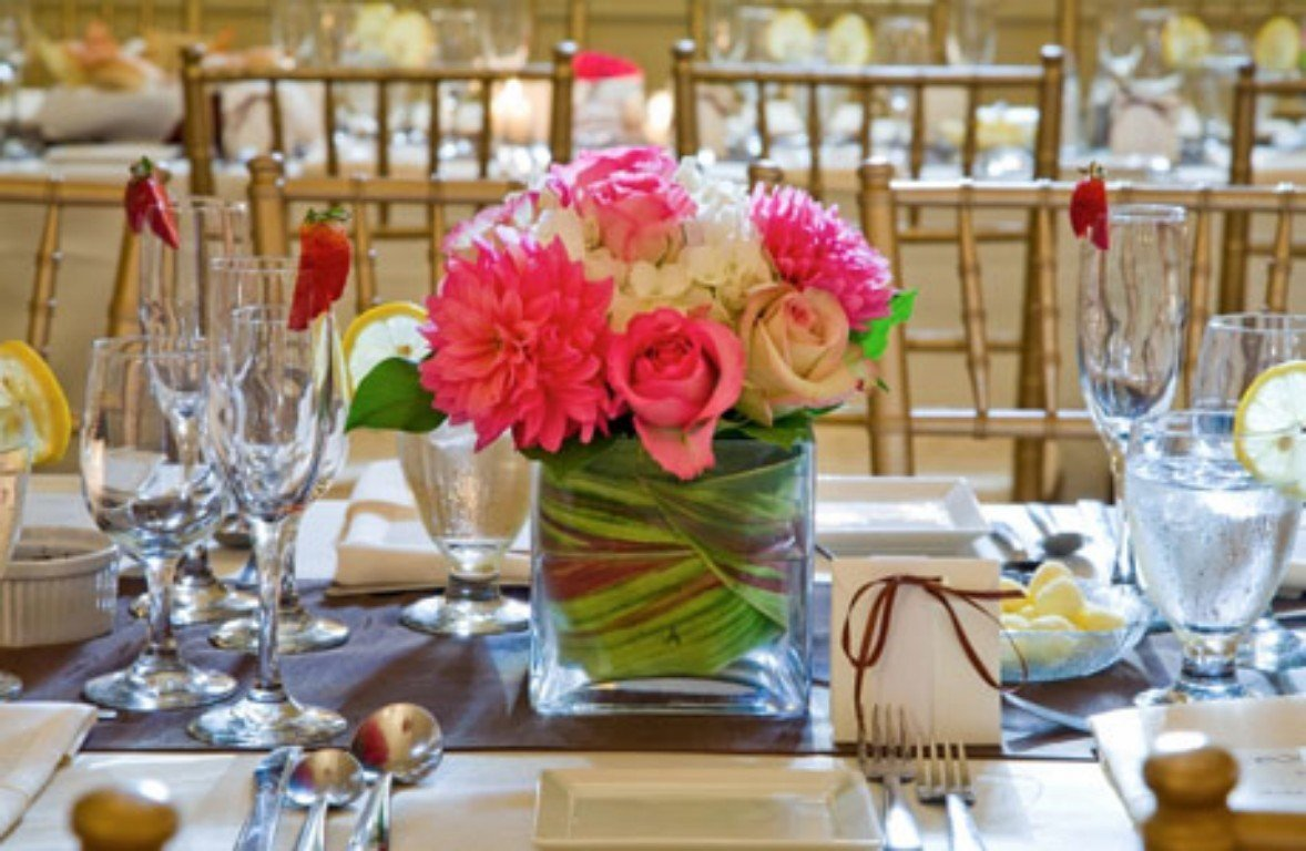 Spring Wedding Centerpieces Ideas