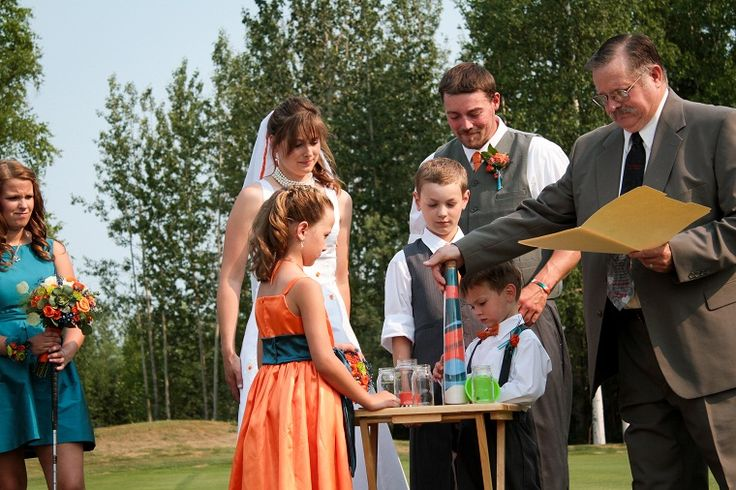 Blended Family Wedding Ceremony Ideas