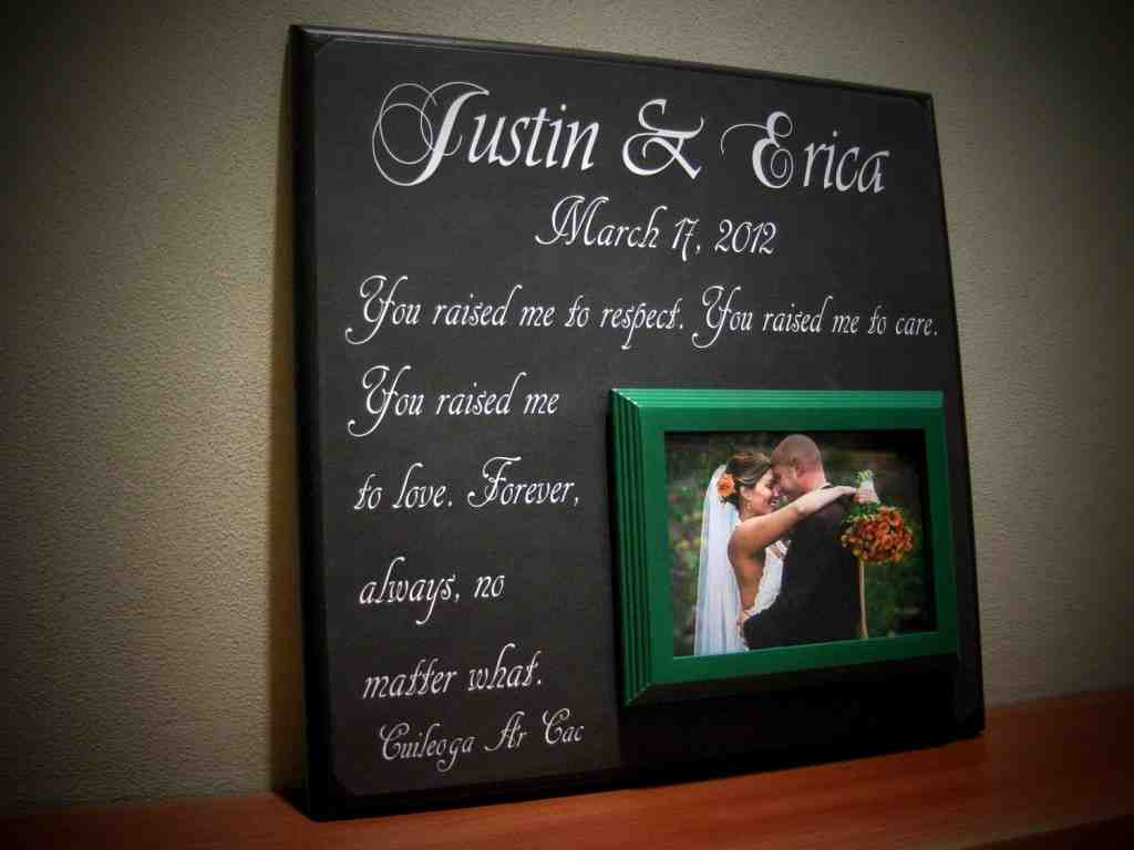 Wedding Gift Ideas For Parents Of The Bride And Groom