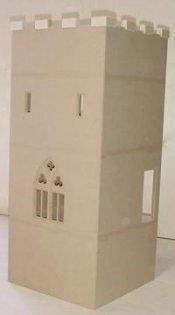New Castle Keep Dollhouse Kit 12500 Miniature