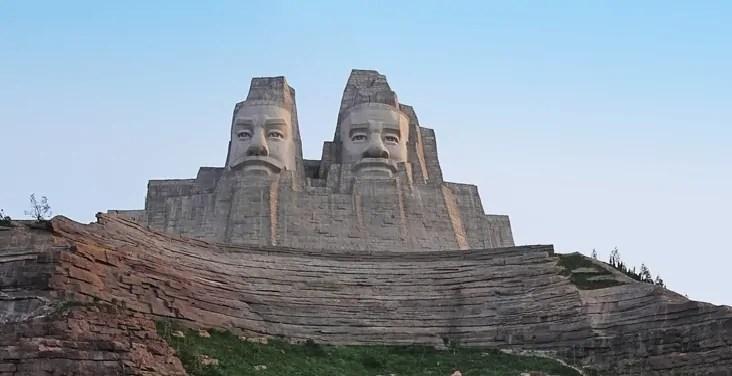 Emperors Yan and Huang, China