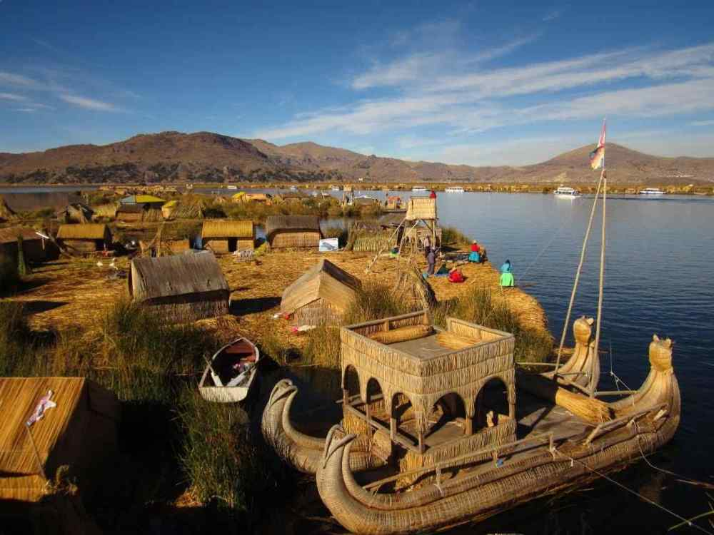 Lake Titicaca's Temple, Peru