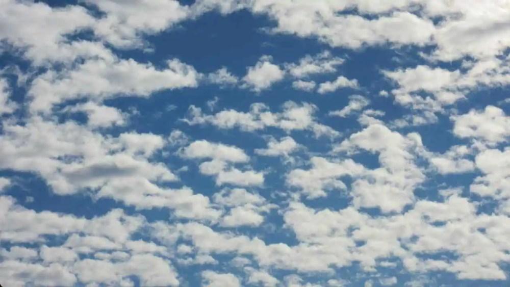 Altocumulus Castellanus Cloud