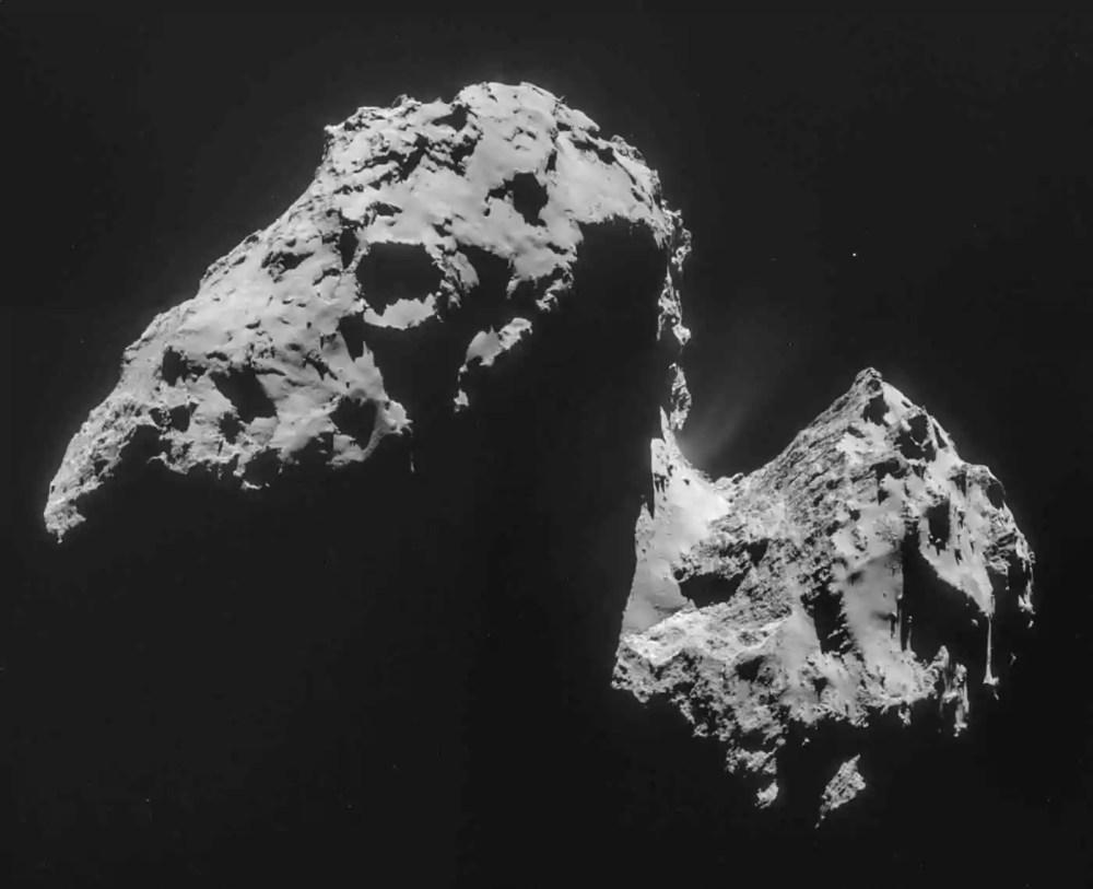 Churyumov- Gerasimenko Comet