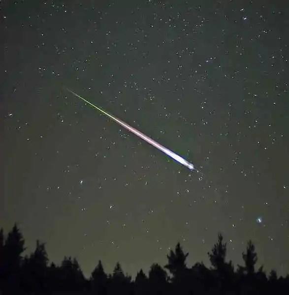 Leonid meteor storms