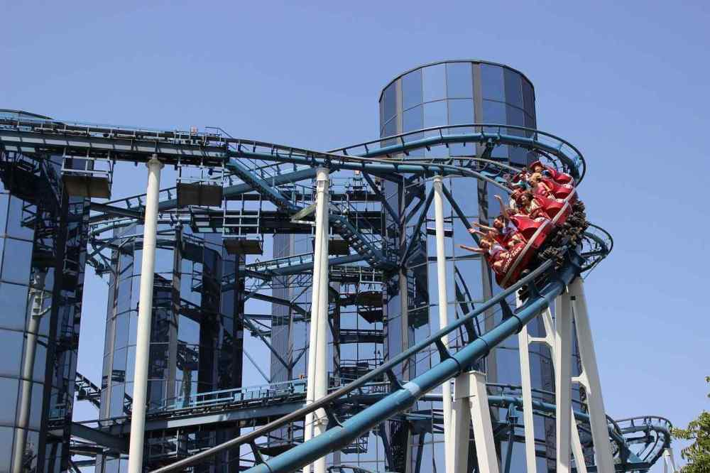 Superman Escape from Krypton, Six Flags Magic Mountain Park, California