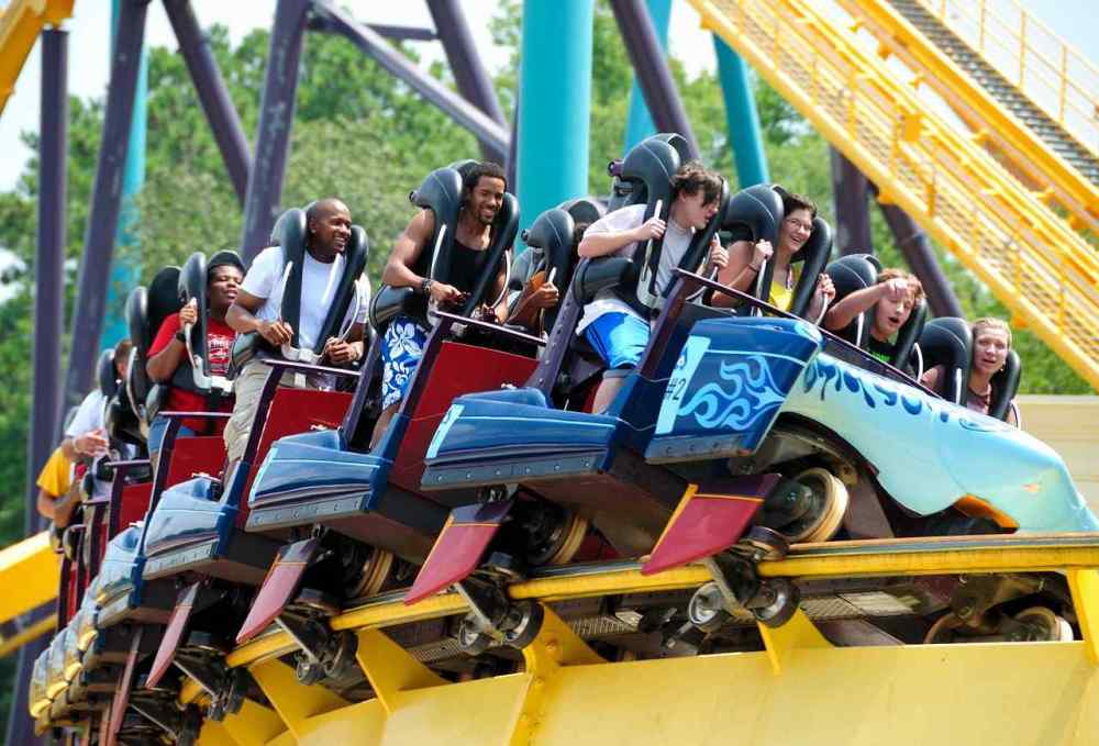 Top Thrill Dragster, Cedar point, Ohio, United States