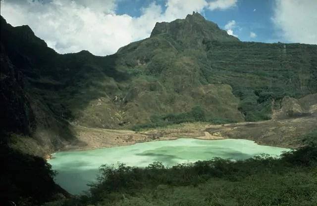Kelud Volcano, Indonesia