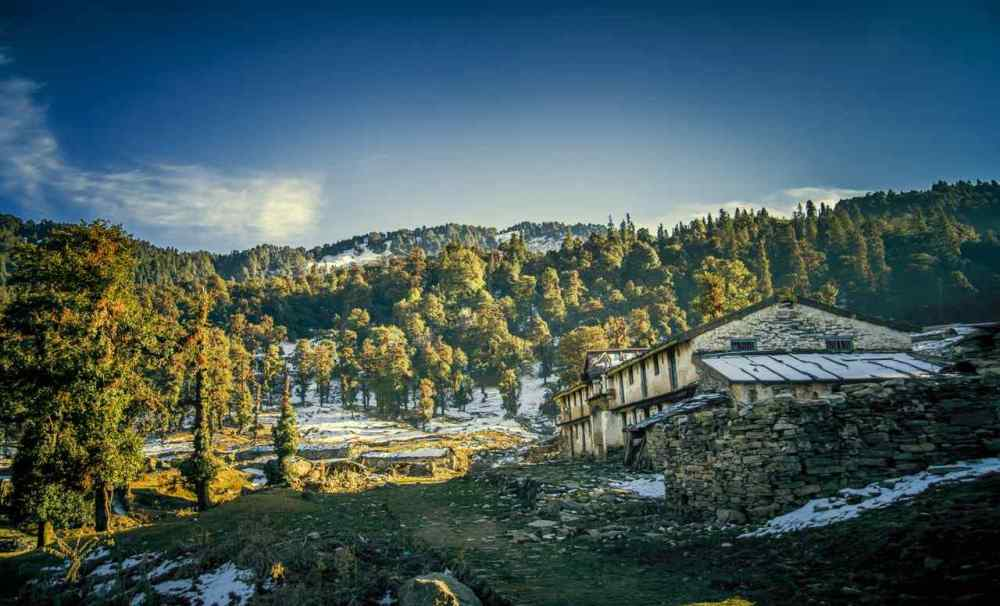 CHOPTA CHANDRASHILA