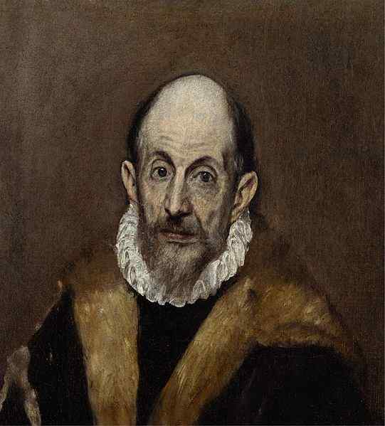 "El Greco – ""Portrait of a man"", 1595–1600"