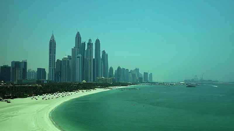 The Palm Jumeirah - Dubai - United Arab Emirates