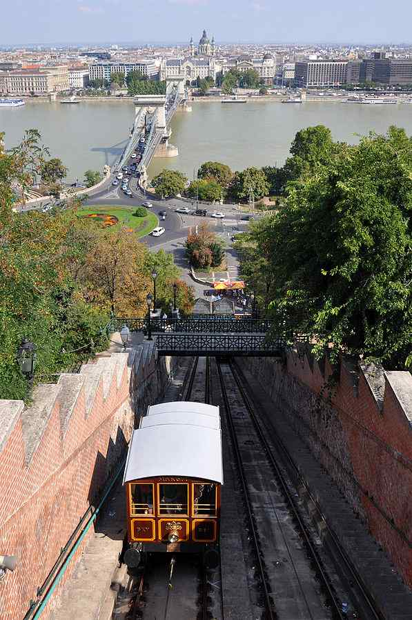 Castle Hill Funicular, Hungary