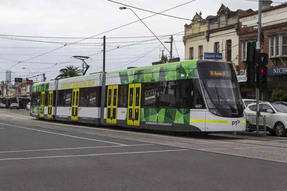 Melbourne's Tram 96