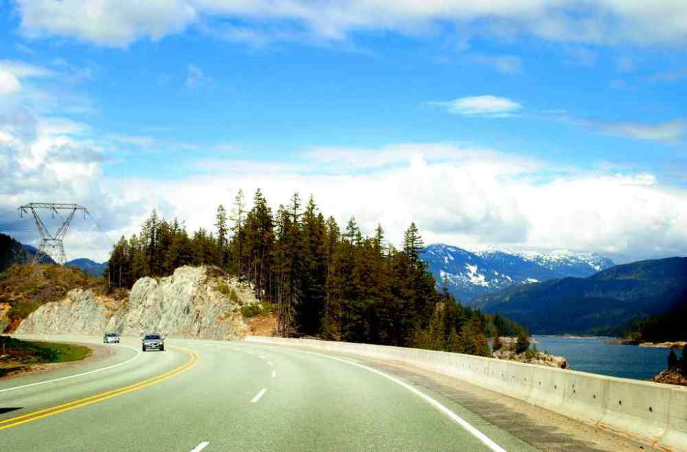 Sea to Sky Highway, Canada