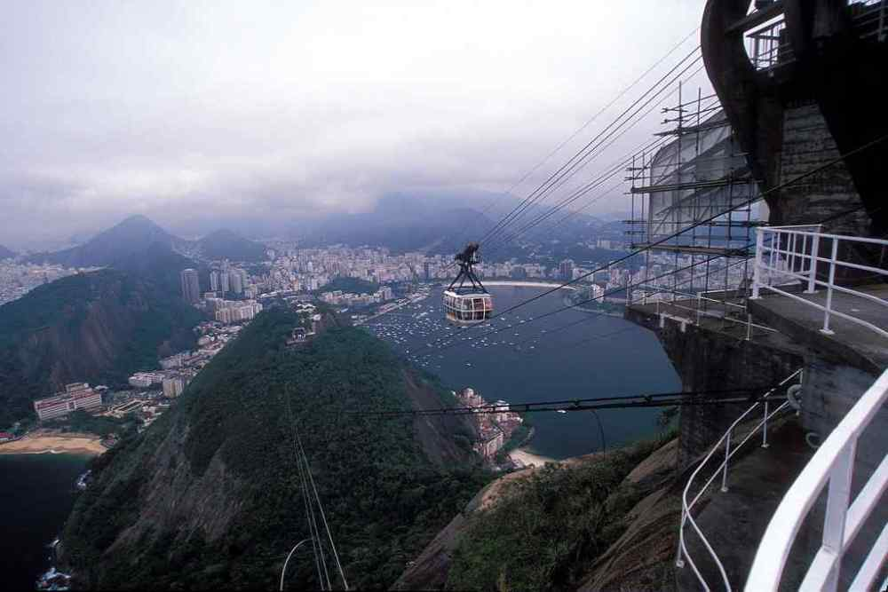 Sugar Loaf Aerial Lift, Brazil