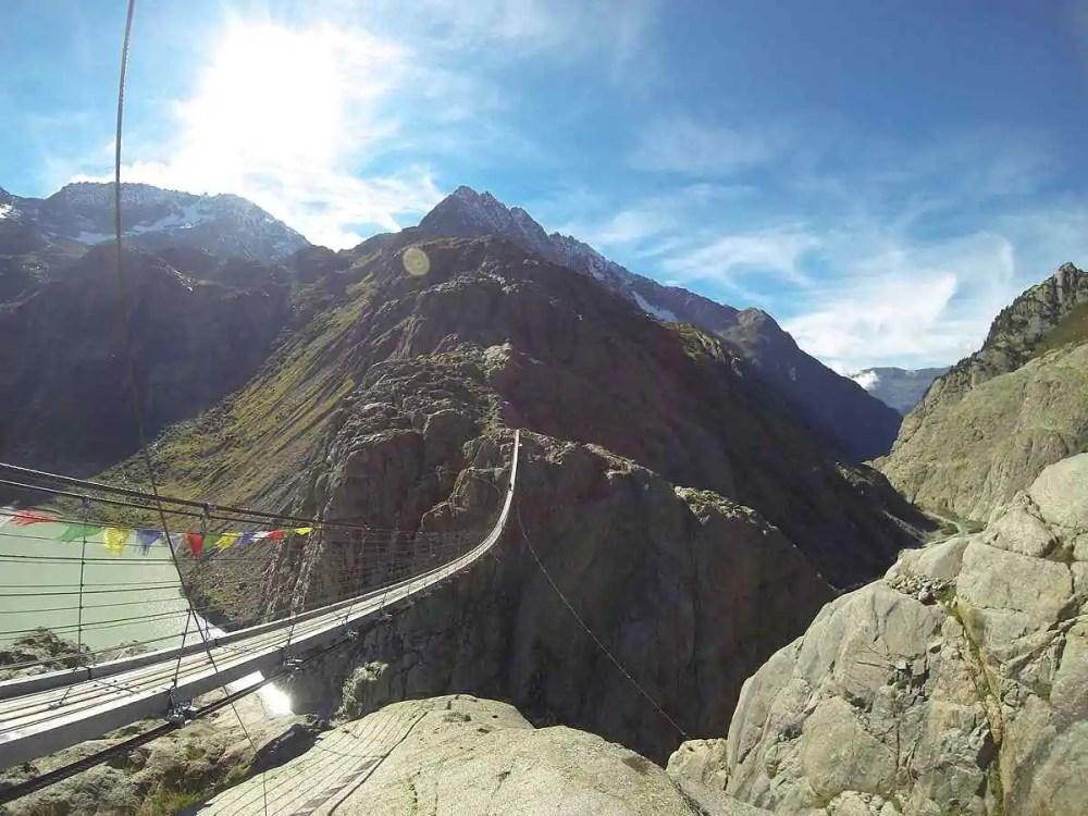 Trift Bridge, Switzerland