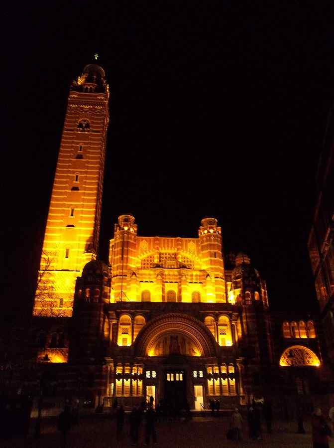 The Campanile Bell Tower of Westminster Cathedral, London