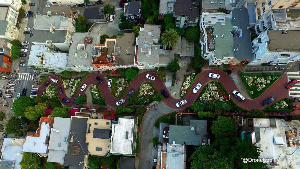 Lombard Street, San Francisco, USA