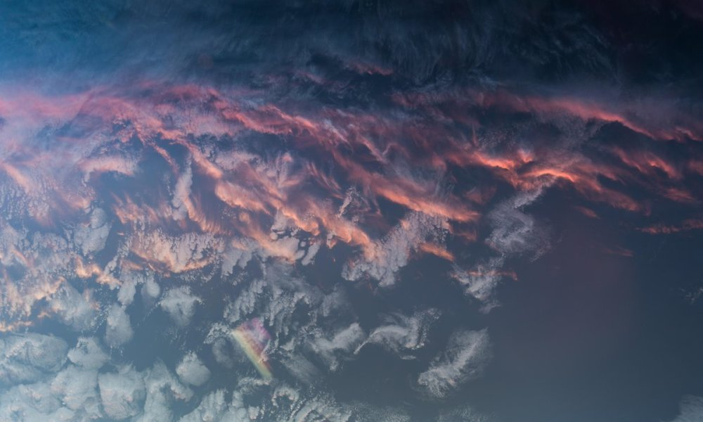 Sunset From Space