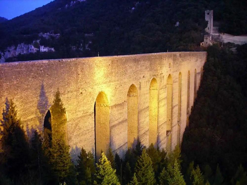 Ponte Delle Torri, Spoleto, Italy