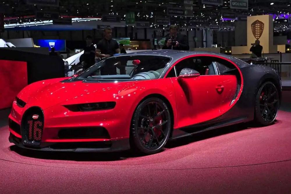Bugatti Chiron ( 0-60 mph in 2.5 seconds)