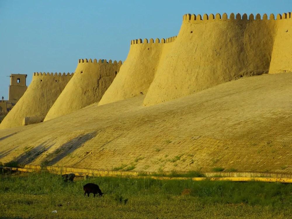 KHIVA WALL, Uzbekistan