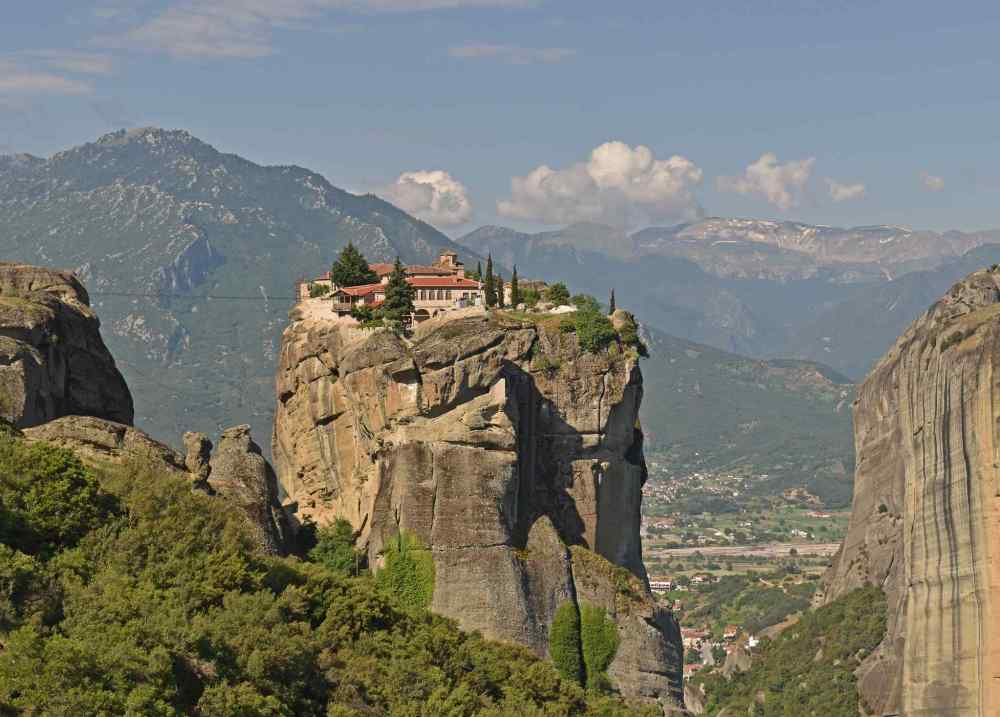 METEORA, Monastery in Greece
