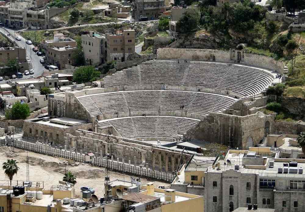 THE ROMAN THEATER OF AMMAN, Jordan