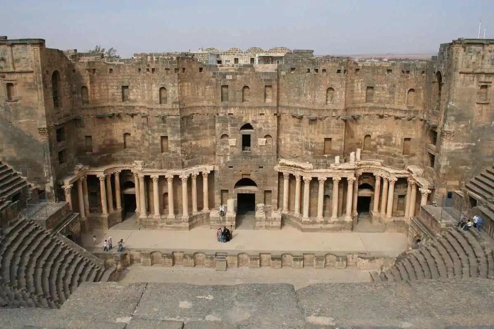 THE ROMAN THEATER OF BOSRA, Syria