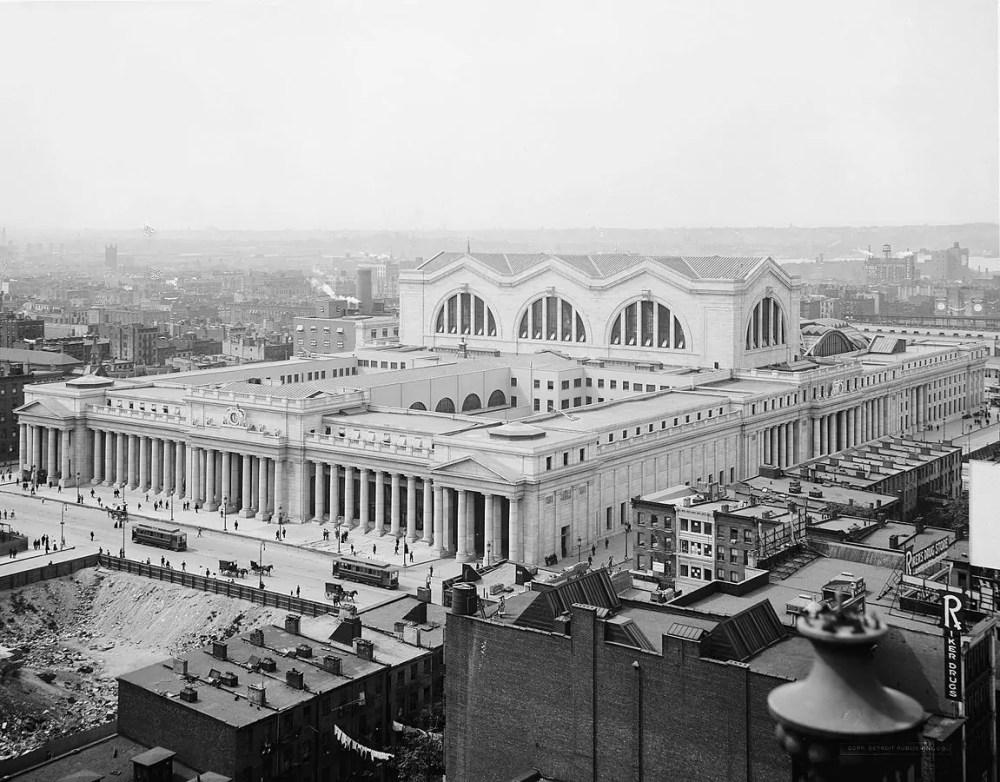 The Original Pennsylvania Station,New York