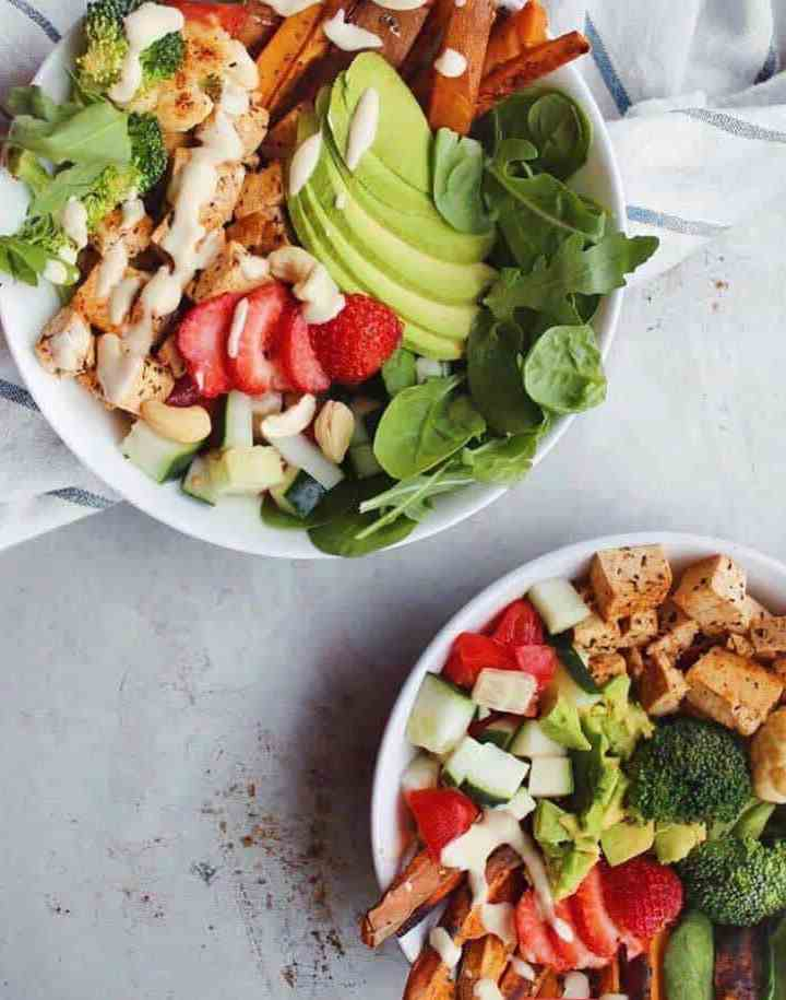 How To Make A Healthy Vegan Nourish Bowl For Lunch Or Dinner