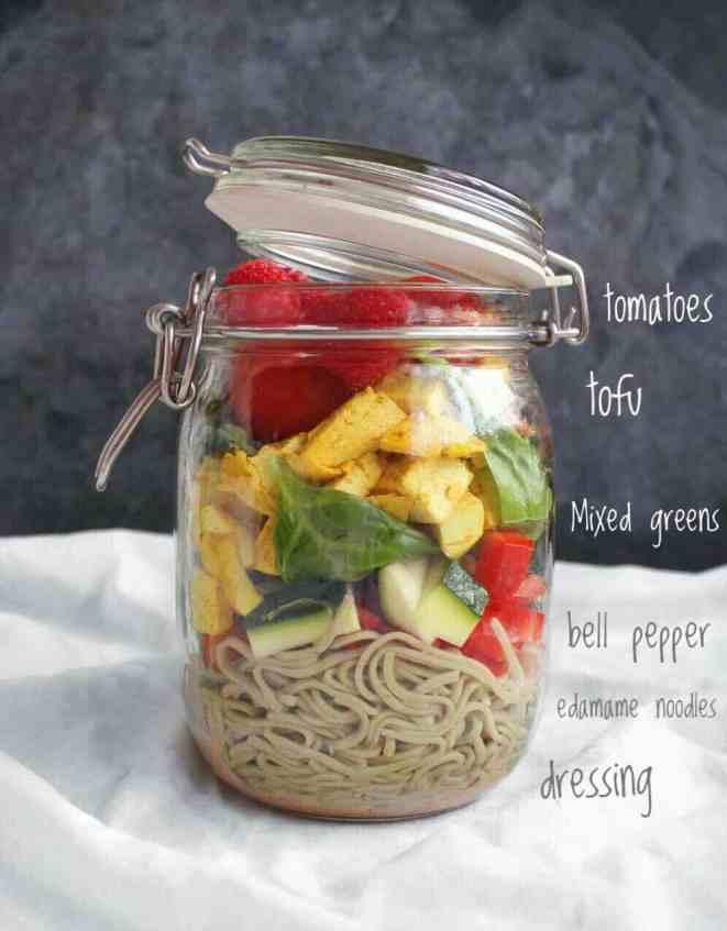 Tofu Salad Recipe High Protein