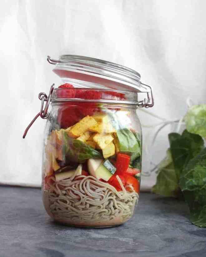Turmeric Tofu Salad Recipe