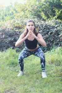 Narrow squat exercise