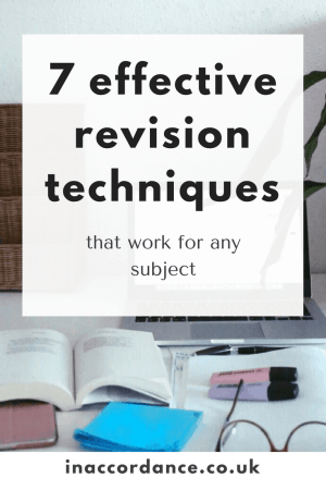 7 study techniques that encourage active information retention and can be used for any subject
