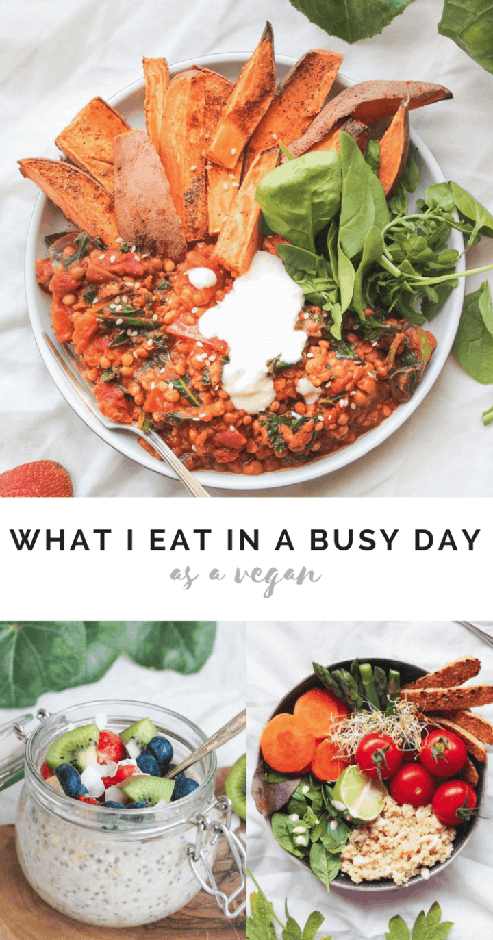 What I Eat In A Day As A Busy Vegan