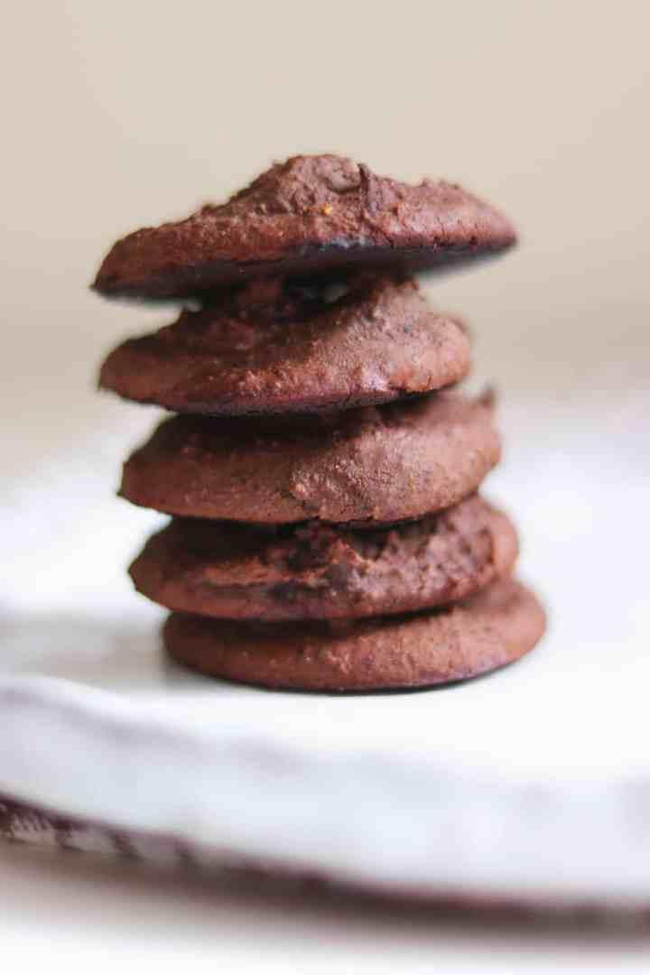 Vegan black bean cookies
